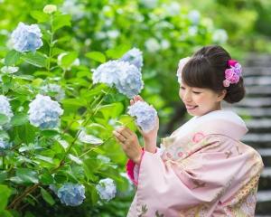 日本庭園ロケ