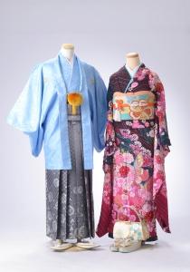 成人式,振袖,羽織袴