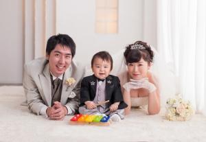 家族結婚式