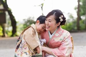 所澤神明社,所沢,七五三,ロケ,家族写真,祈祷,753