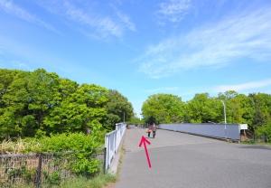 航空公園歩道橋