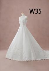 白ドレスW35
