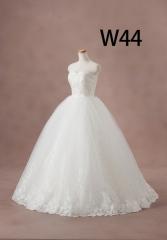 白ドレスW44