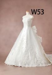 白ドレスW53