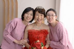 【ブログ】サプライズ!赤いドレスで還暦お祝い♡♡