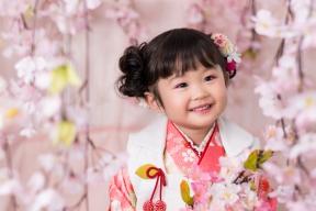 【ブログ】春に753前撮りしました♪かわいい3歳ご紹介!